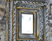 STUNNING ornate mirror, mirror on the wall, home decor, coolvintage, vintage wall mirror, collectibles, gorgeous, looks great, unique L  t10