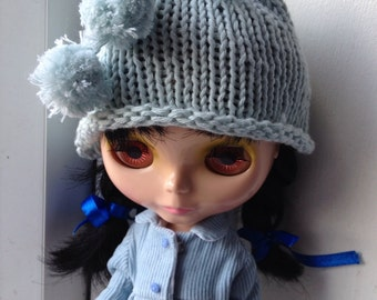 Hat for Blythe - Light Blue