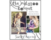 DIY PDF Pattern and Tutorial - The Maliboo Romper - Sizes 6M to 12 Years