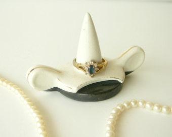 Vintage Porcelain Ring Holder Japan