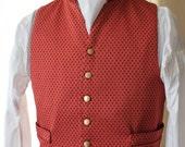 Prussian Dot Gentleman's Waistcoat