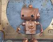 Little Steampunk robot Harold
