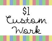 Sweetie Baby's Designs 1 Dollar Worth of Custom Work - Graphic Design Web Blog Blogger Template Logo Premade