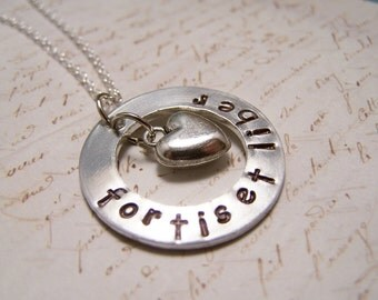 Latin Necklace. Fortis et Liber. Strong and Free. Be Brave. Courage. Be yourself.