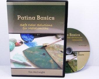 Patina Basics By Tim McCreight  Instructional DVD   SALE