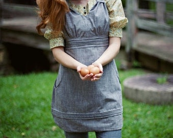 Gathering Apron by Sew Liberated Sewing Pattern