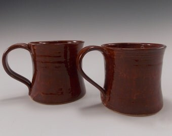 His and Her Albany (Brown) Beverage Mugs