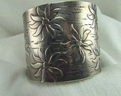 Circa 1950 Francisco Rebajes Sterling Silver Cuff Bracelet