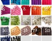 9 inch Handbag zippers with long pull, Choose TEN - neutrals, turquoise, aqua, purple, green, sunflower, orange, hot pink, red