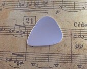 Handmade Solid Sterling Guitar Pick Plectrum Keyring UK Hallmarked