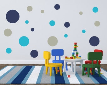 Polka Dot Wall Decals, Circle Wall Decals, Wall Stickers, Childrens Wall  Decals Part 73