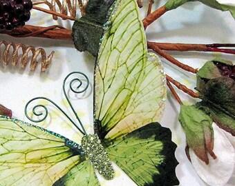 Butterfly Embellishments Esmeralda