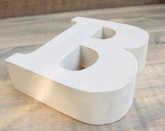 Popular Items For Wooden Letter B On Etsy