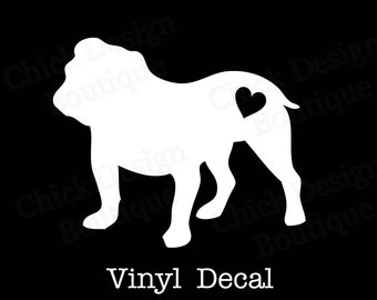 American bulldog silhouette - photo#27
