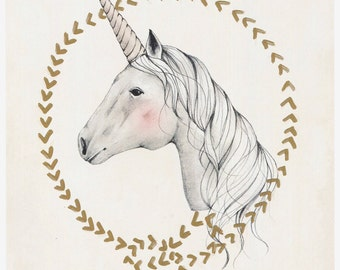 UNICORN - 11X14 art print