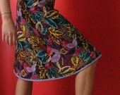 Knee length Wrap skirt (one size fits most S - L)