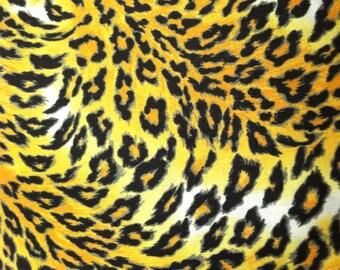 Animal print fabric cotton