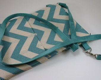 Nurse case, stethoscope and bp cuff bag -you pick fabric - pockets for tools..Crossbody strap or wristlet available as options