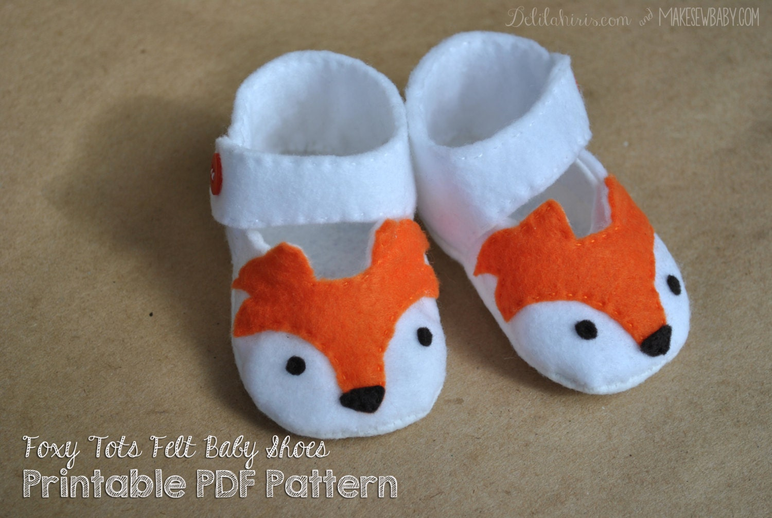Making Baby Shoes Out Of Felt
