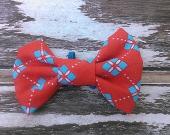 Webster slide-on-collar doggy/kitty bowtie