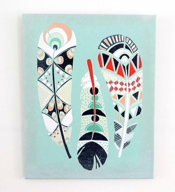 Home Wall Decor Nursery Art Native American Art By Lauraamiss