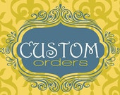 CUSTOM SERVICES....Cloth Napkins for Weddings and Special events-Place Your Custom Order Here.