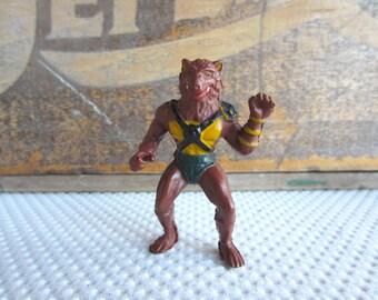 Vintage 1986 Thundercat Jackalman Figurine Telepix