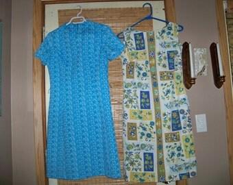 2 sixties handmade dresses