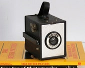 Vintage Camera, Ansco Shur Flash Box Camera, 1950s