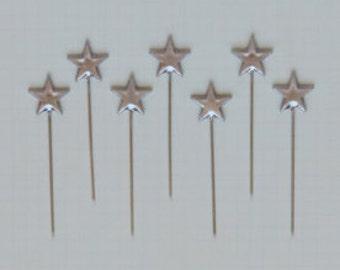 Silver Star Trinket Pins by Maya Road