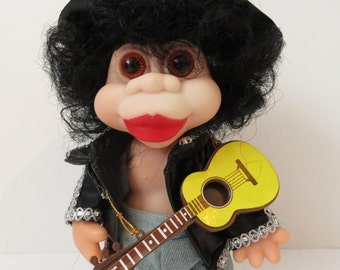 Celebrity Spoof Slash Troll Doll 90's Mock Comedy Unauthorized Trolls G n R Guns & Roses