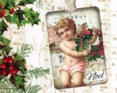 Christmas Gift Tags - Angel Tags - Noel