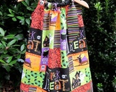 SIDEWALK SALE - Halloween Pillowcase Dress - Size 4T