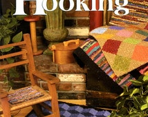 Kathleen's Fabric Locker Hooking Learn How Make Rugs Fabric Hook String Latch Hook Canvas  Traditional Quilt Block Design Craft Pattern Book