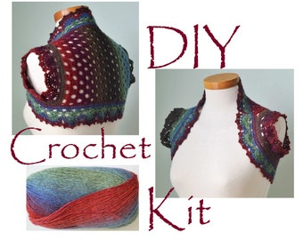Rainbow Crochet Kits & How To Kits Etsy Studio