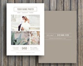 Mini Session Marketing Template for Photographers A6 - Digital Photography Templates - m0076