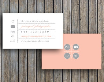 Photography templates photography business cards business photography templates business card template business cards vintage business card template for photographers reheart Image collections
