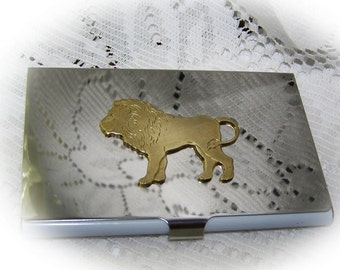 LION King of the Jungle Business Card Holder - The Lion King - LEO