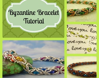 PDF Jewelry Tutorial - Byzantine Instructions