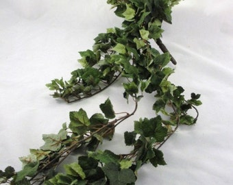 Silk ivy bush Grape Ivy bridal bouquet base