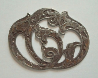 Vintage Art Deco Nouveau Steel Finding