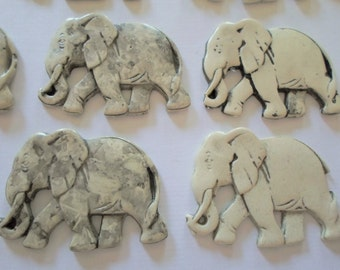 Unusual Vintage Elephant Findingt - Irregular Lot - 4 Elephants