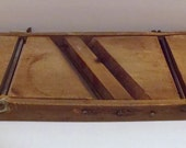 Vintage Slaw Cutter, Antique Kraut Cutter, Farmhouse Decor, Rustic Kitchen Decor, Gift For Mom