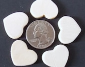 """100 - 7/8"""" - unstained Wood Hearts, Wedding Supplies, Craft Supplies, Woodworking"""