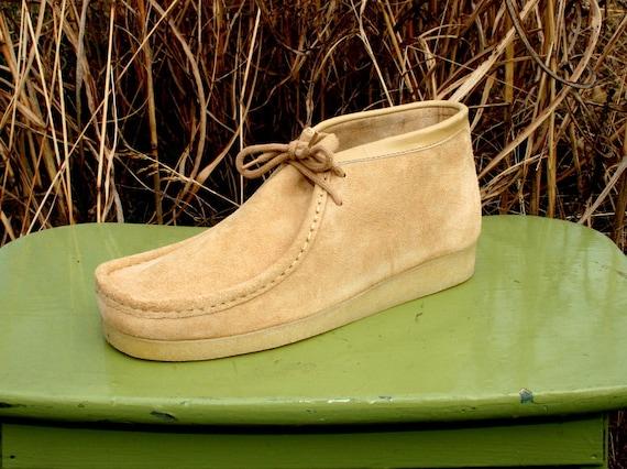 Vintage 70s Chukka Desert Boots Men S 9 Women By