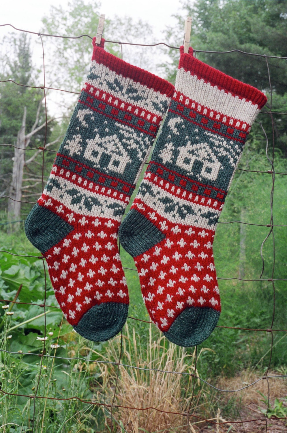 Online Knitting Patterns To Download : Online Download Annies CABIN Knitting Pattern Hand Knit from annieswoole...