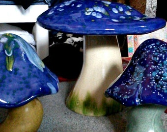 Ceramic Garden Mushrooms - Set of 2 & Garden mushroom | Etsy islam-shia.org