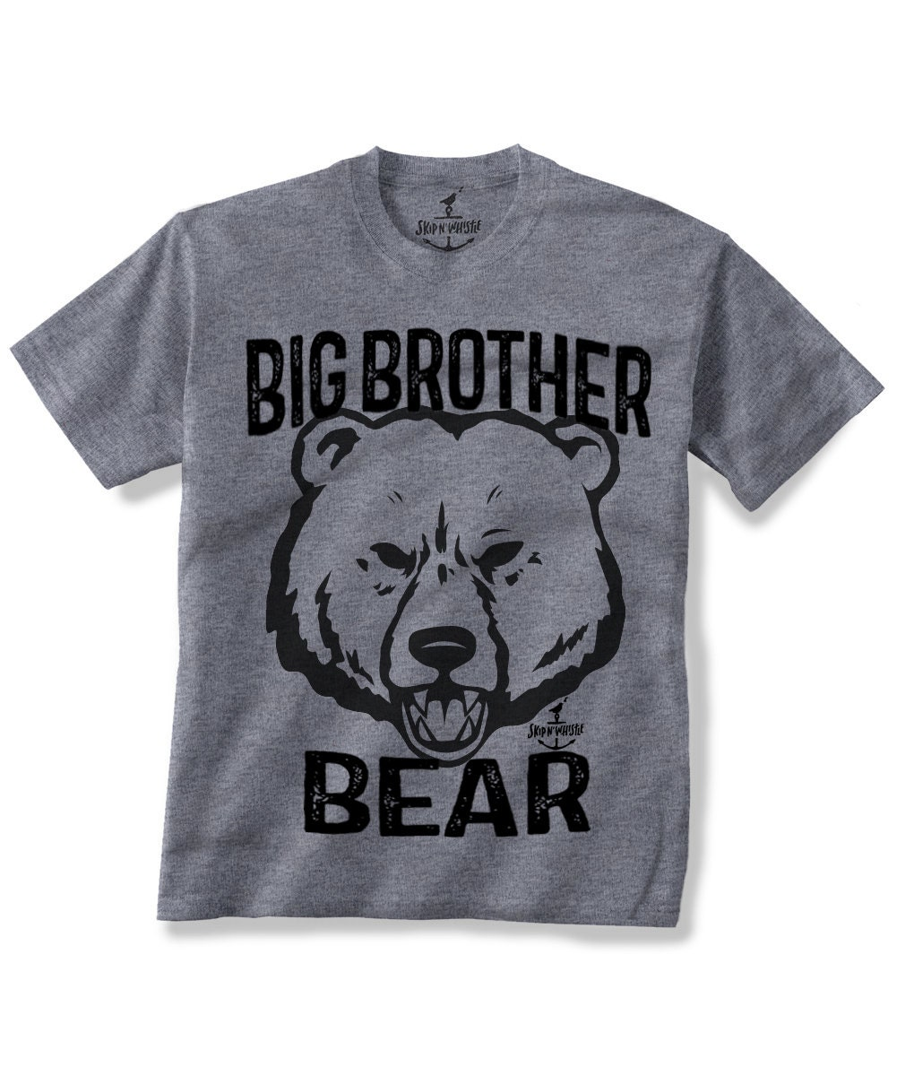 BIG BROTHER BEAR Kids T shirt 7 color choices Size 2t