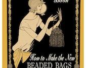 Hiawatha Beaded Bags #7 c.1924 - Flapper Era Bead Purse in Knitting & Crochet (PDF Ebook Digital Download)