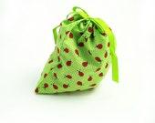 Medium Ribbon Drawstring Bag for gifts, treats, sachet, etc. - FREE SHIPPING (USA)